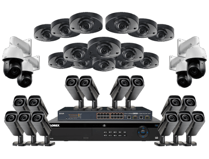 Powerful 32 Camera HD 4K Security System
