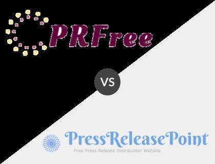 PRFree vs PressReleasePoint.com