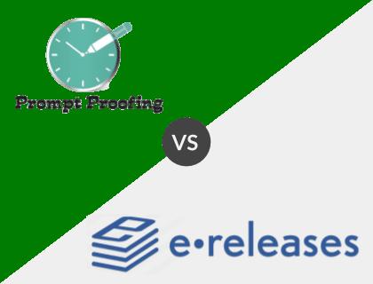Prompt Proofing vs. eReleases