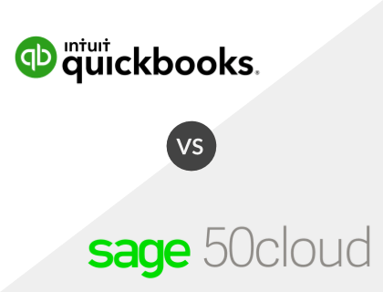 QuickBooks vs. Sage 50Cloud