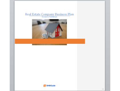 Real Estate Business Business Plan Template Download