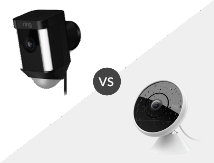Ring Spotlight Cam vs. Logitech Circle 2: