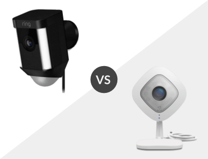 Ring Spotlight Cam vs. NETGEAR Arlo Q