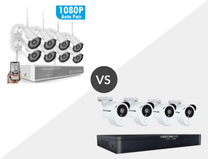 Safevant 8CH 1080P NVR Wireless System vs. Night Owl 8 Channel HD 1TB DVR System