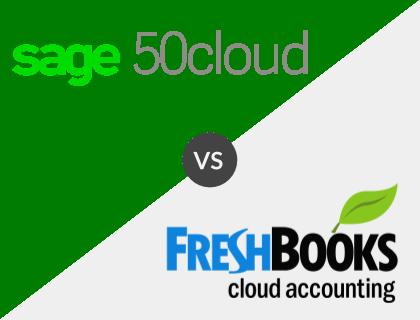 Sage 50cloud vs. FreshBooks