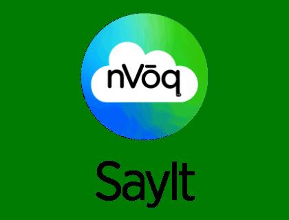 SayIt by nVoq