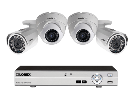 Security Surveillance System with Night Vision Cameras MPX422DW