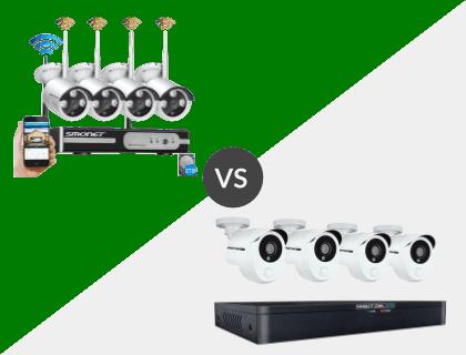 SMONET 8CH Wireless 1080P 2TB NVR System vs. Night Owl 8 Channel HD 1TB DVR System