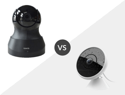 Tenvis HD IP Camera vs. Logitech Circle 2