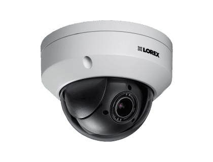 Lorex Weatherproof HD Motorized Varifocal Dome IP Security Camera (LNZ44P4BW)