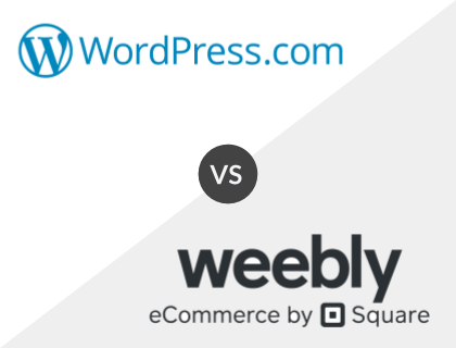 WordPress.com vs. Weebly