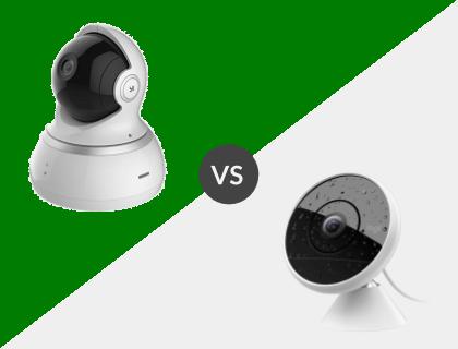 YI Dome Camera vs. Logitech Circle 2