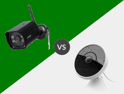 Zmodo 1080p Outdoor Weatherproof WiFi HD Security Camera vs. Logitech Circle 2