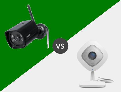 Zmodo 1080p Outdoor Weatherproof WiFi HD Security Camera vs. Netgear Arlo Q