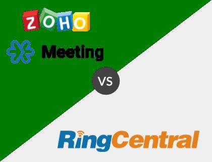 Zoho Meeting vs. RingCentral