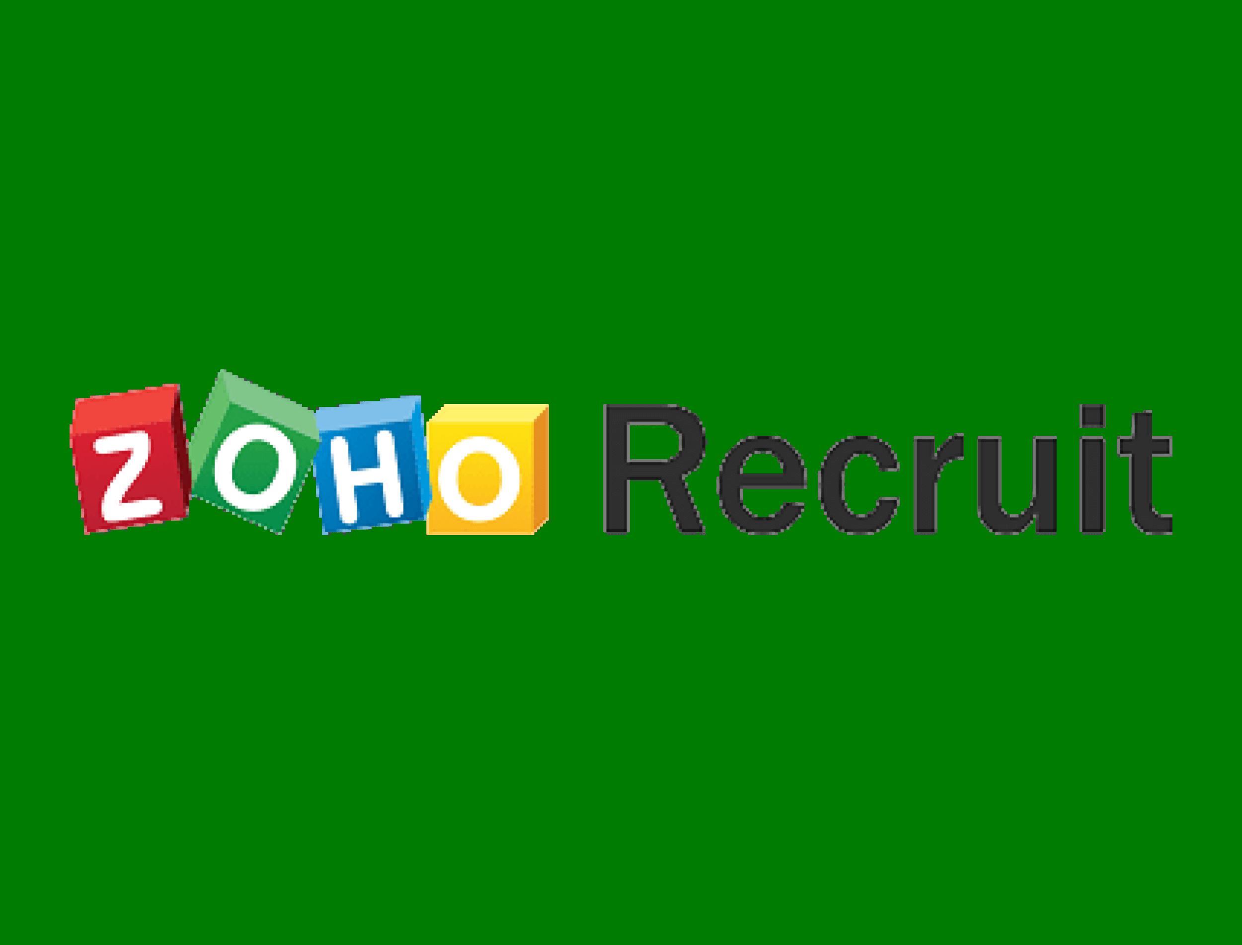 Zoho Recruit Reviews