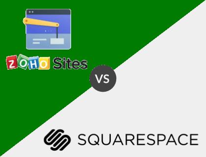 Zoho Sites Pro vs. Squarespace Business